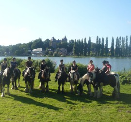 Randonnée à cheval au Mont Saint Michel et en Bretagne
